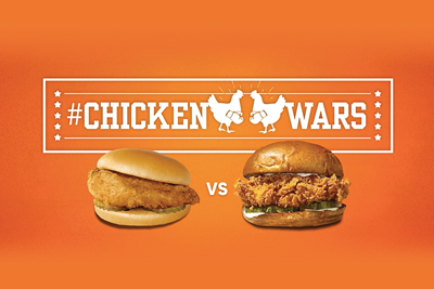 Popeyes Chicken Wars