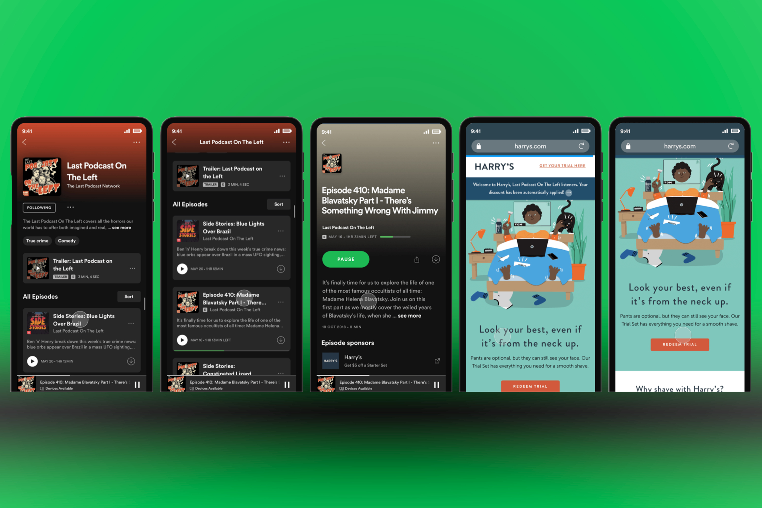 The company is testing a new ad product that does away with podcast hosts repeating the same promo code or vanity URL over-and-over again. Big picture, the move represents Spotify's larger ambitions to become Facebook for audio ads