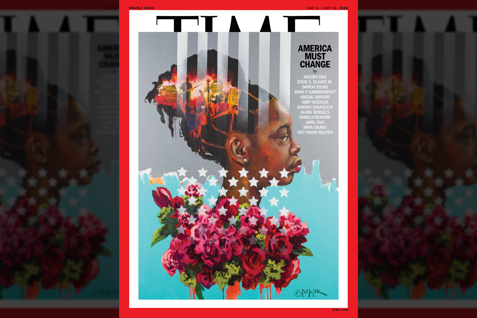 'America Must Change': The story behind Time's latest cover artwork