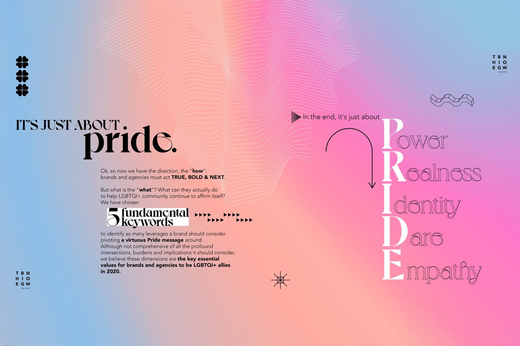 Agency Brief: The Big Now/mcgarrybowen highlight why brands need to support Pride, meaningfully