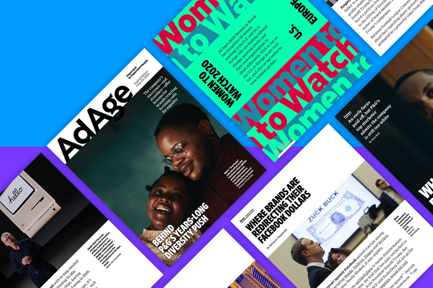 Women to Watch and P&G's diversity efforts: Ad Age Digital Edition