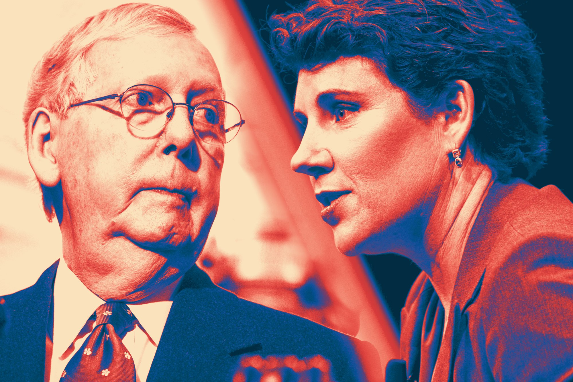 The Mitch McConnell vs. Amy McGrath Show, and the political ad spending story so far
