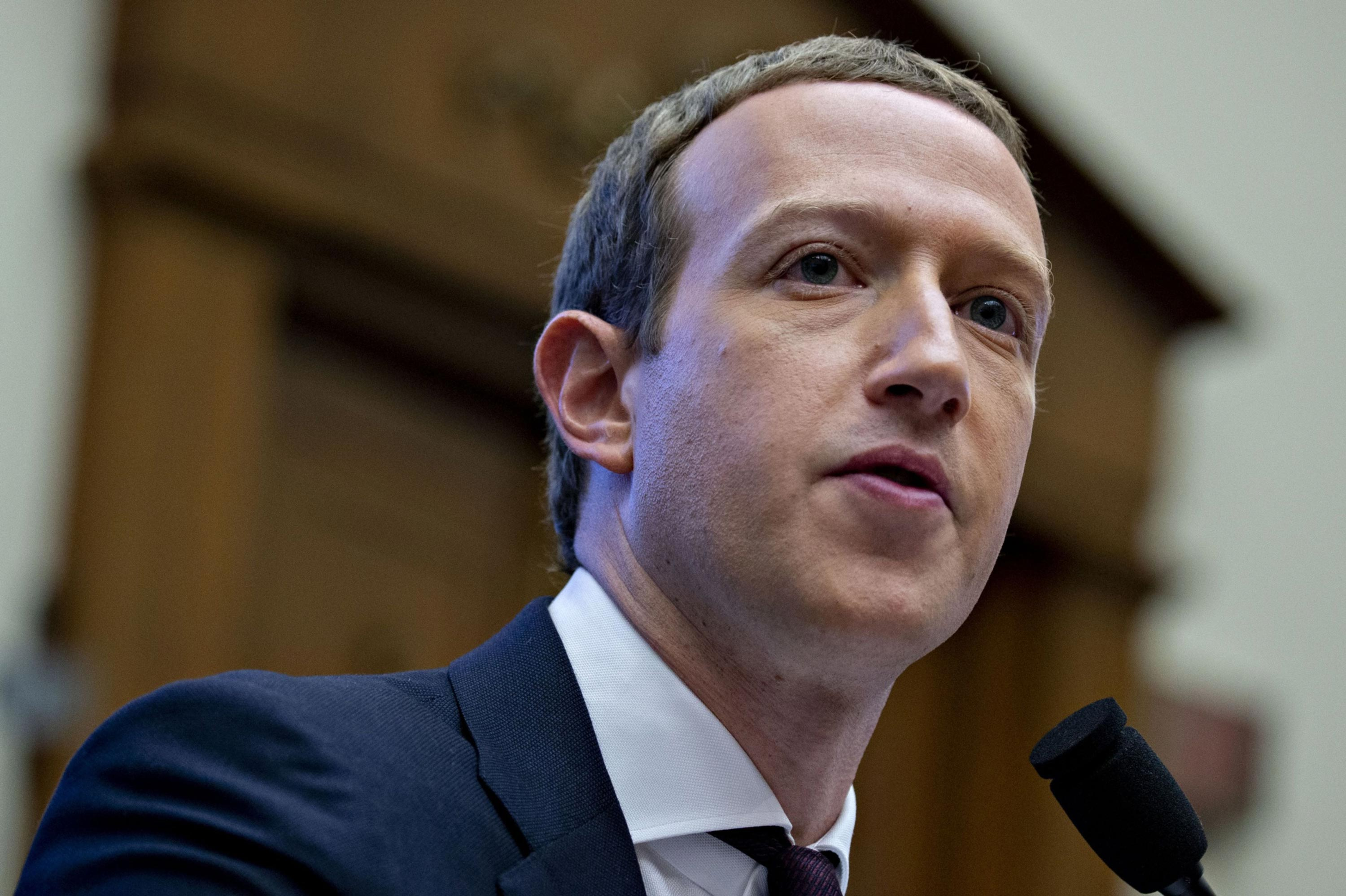 Zuckerberg to tell Congress Facebook's success is patriotic