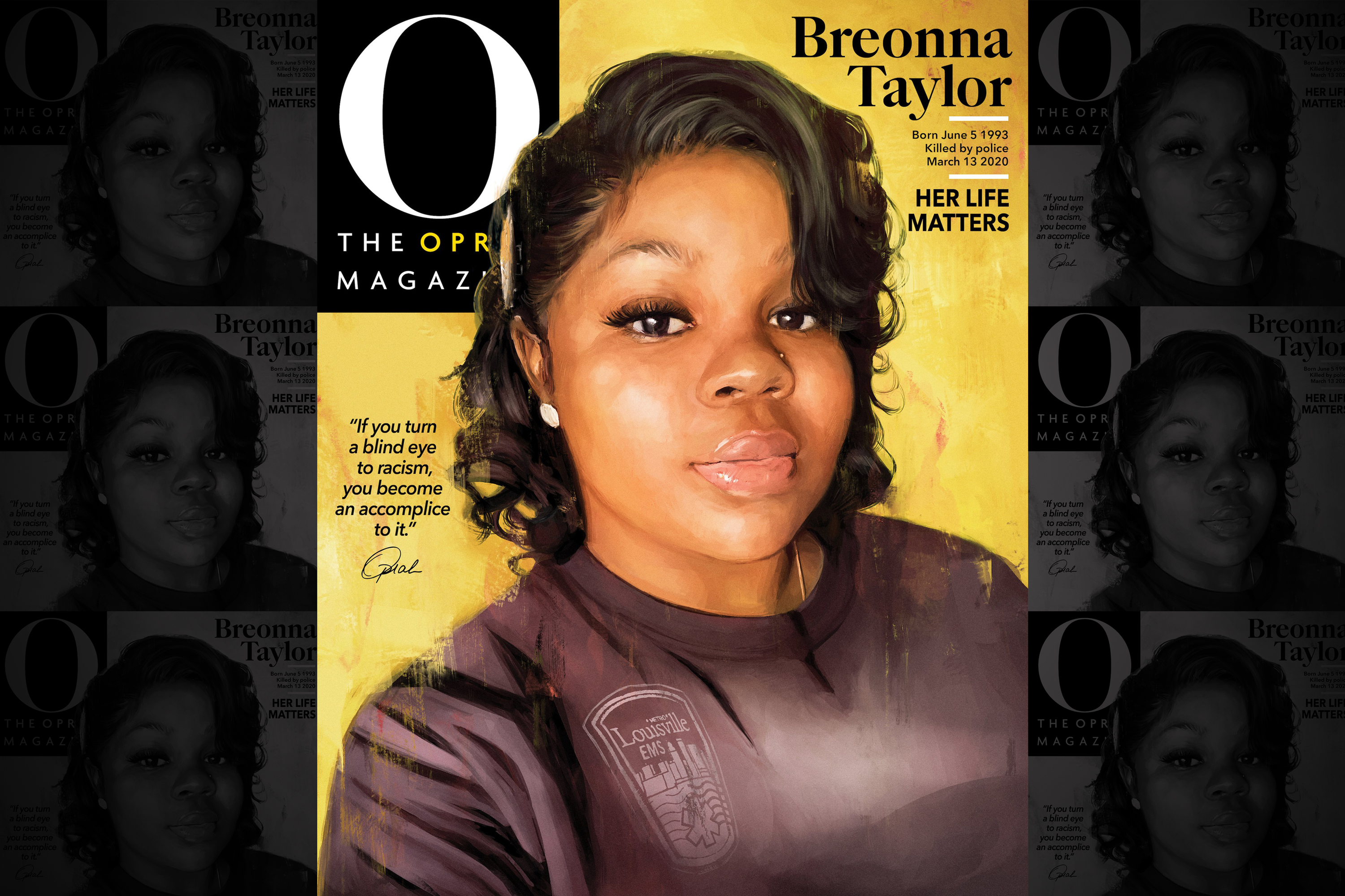 'I cry for justice in her name': Oprah honors Breonna Taylor on the cover of her magazine