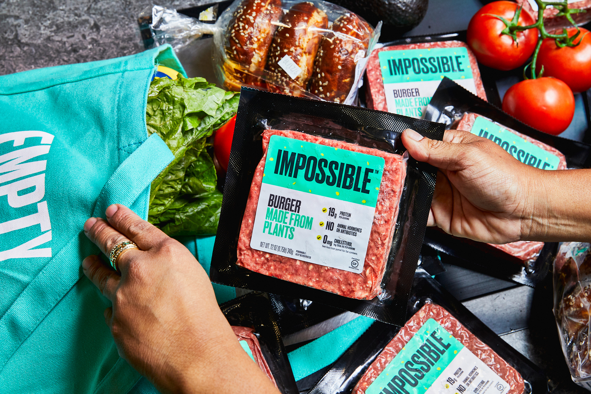 Impossible Foods gets its plant-based burger into Walmart