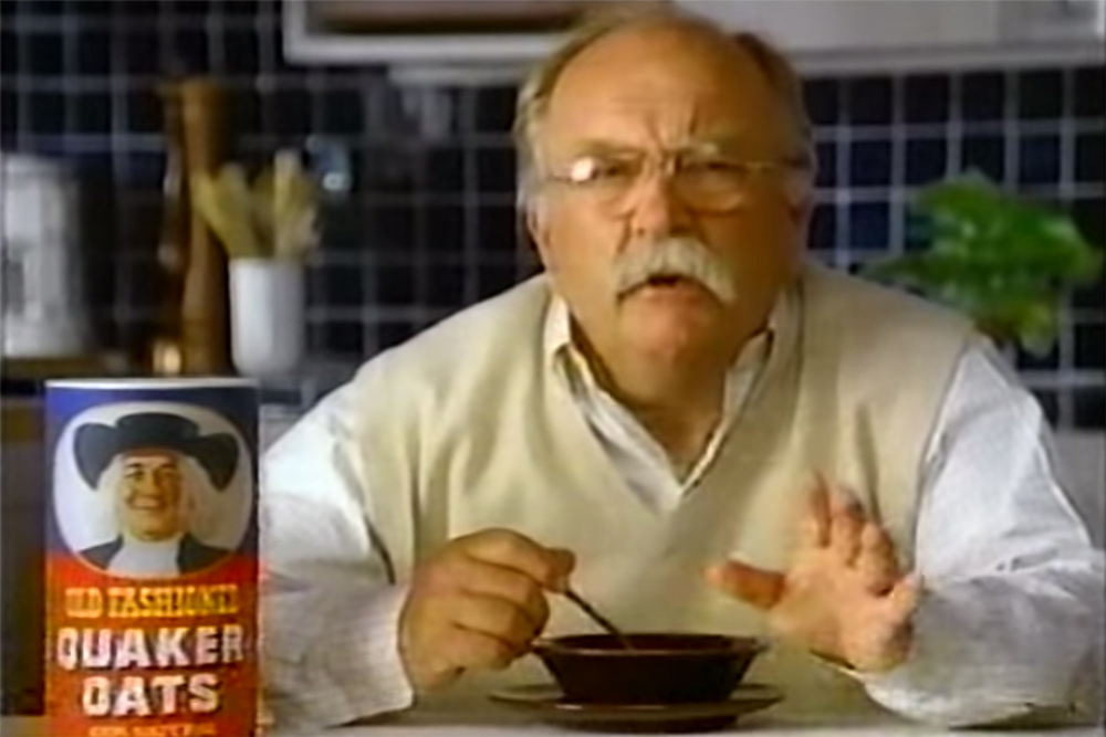 Wilford Brimley dead death obituary ad commercial advertising Quaker Oats Liberty Medical diabetes diabeetus meme