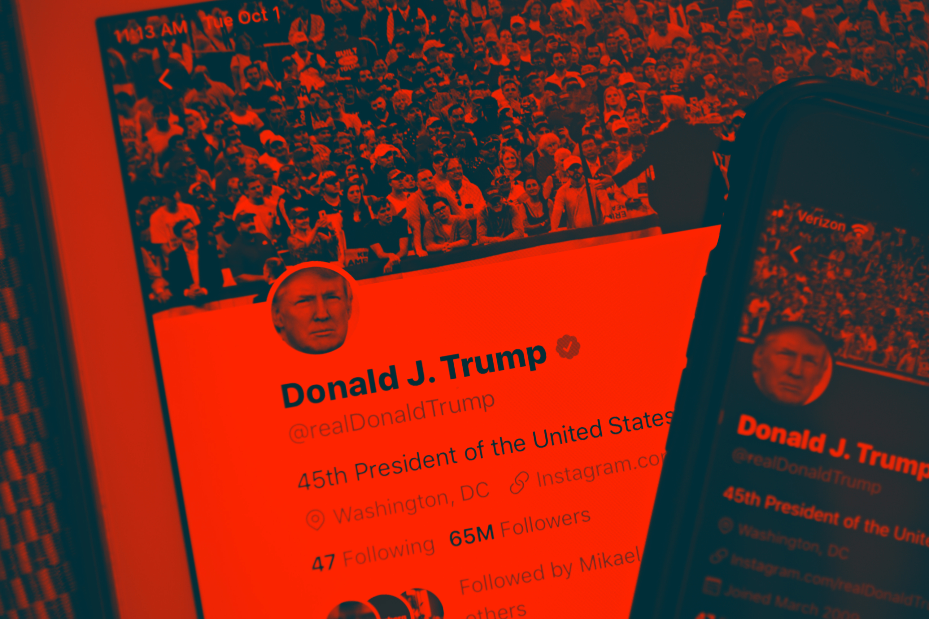 Twitter temporarily blocks Trump campaign account over COVID misinformation