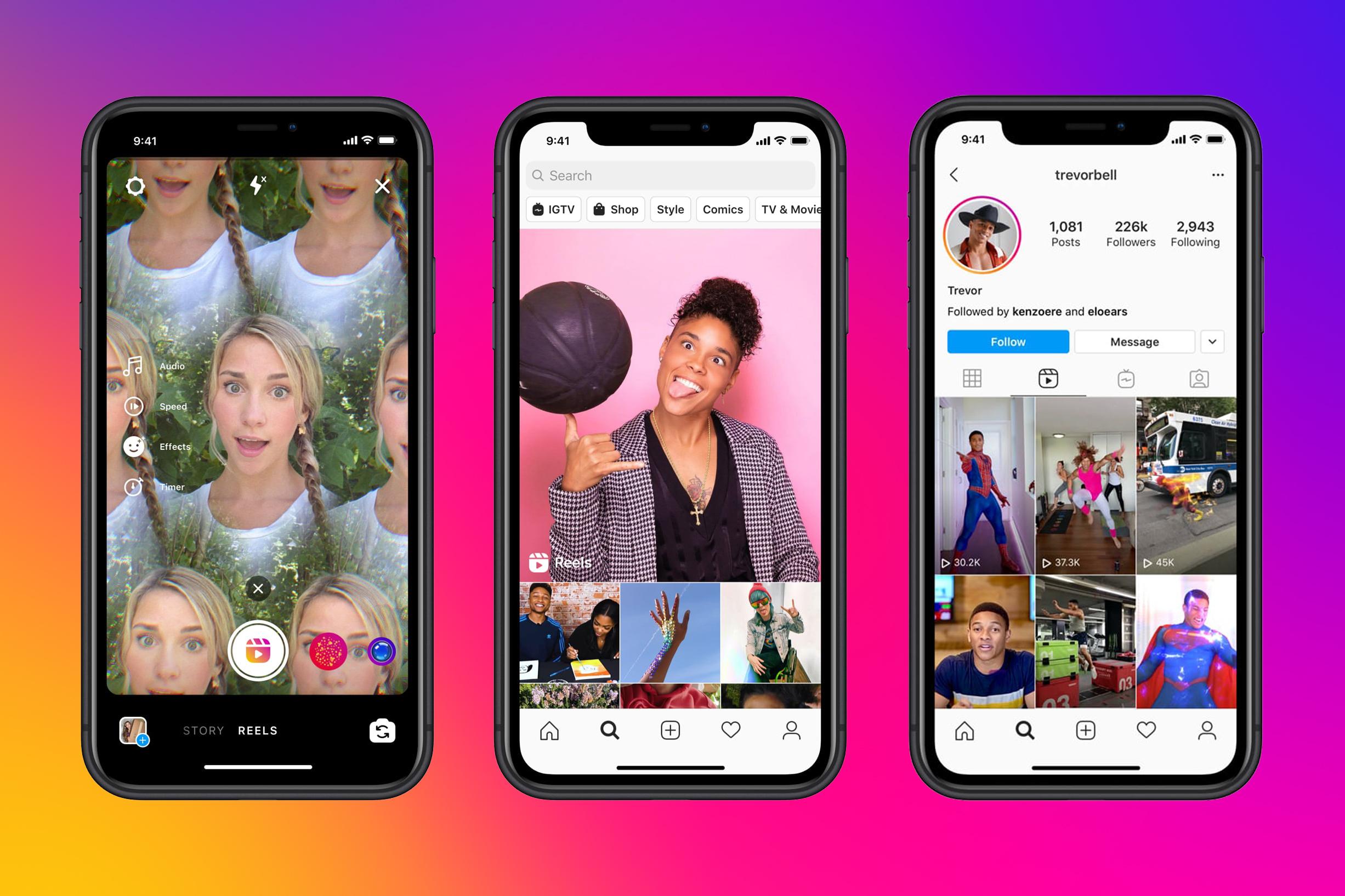 Instagram launches TikTok copycat feature, Reels