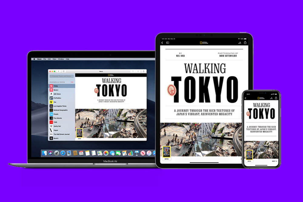 Publisher tell Ad Age that Apple did not inform them about a software change that redirects user traffic from their website to its News+ app.