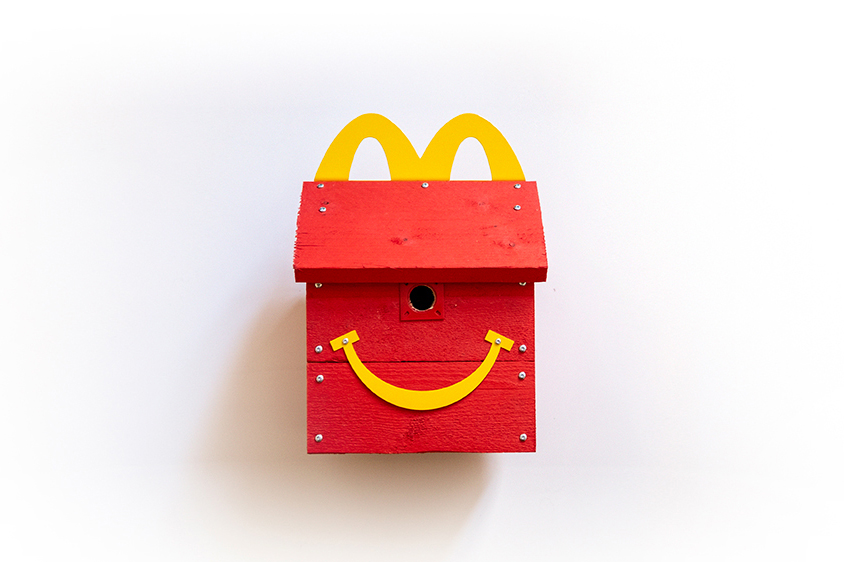 McDonald's is helping to protect birds with Happy Meal nesting boxes