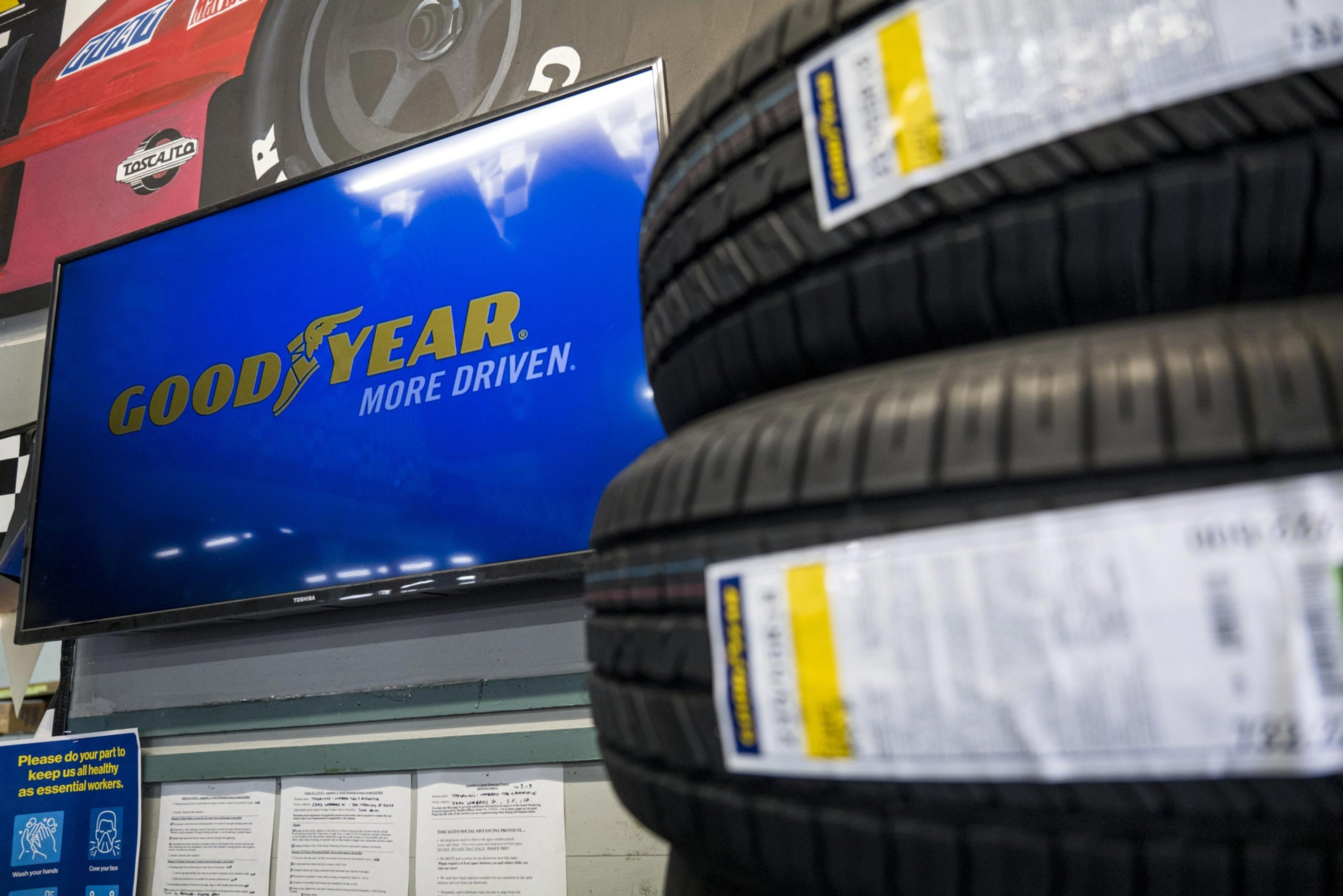 Trump targets Goodyear in his latest tweet targeting a brand, claims it banned MAGA hats
