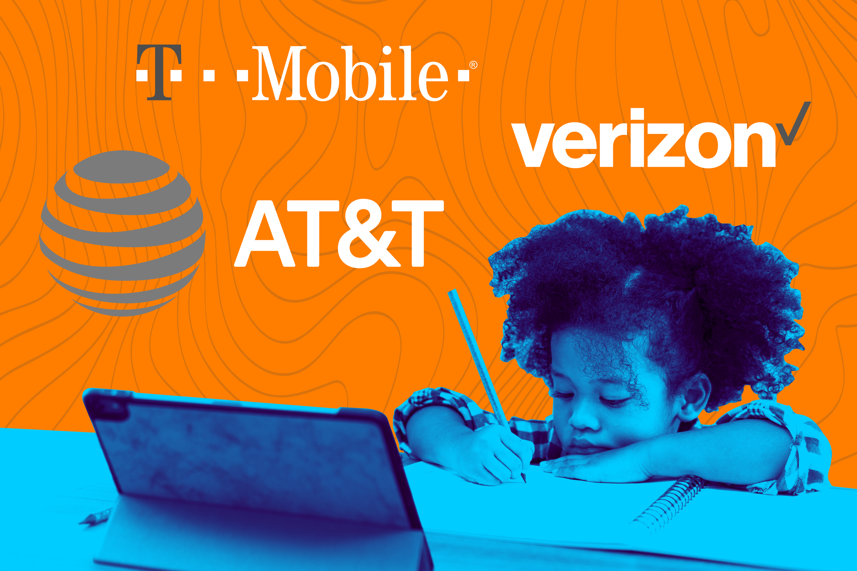 The so-called digital divide has left millions of students without the necessary tools to attend virtual classes later this fall, but wireless carriers are stepping in to close the gap while also bolstering their bottom lines.