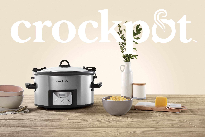 Crock pot Crockpot Crock-pot Sunbeam Newell Brands brand revamp refresh redesign new look new logo hyphen packaging slow cooker