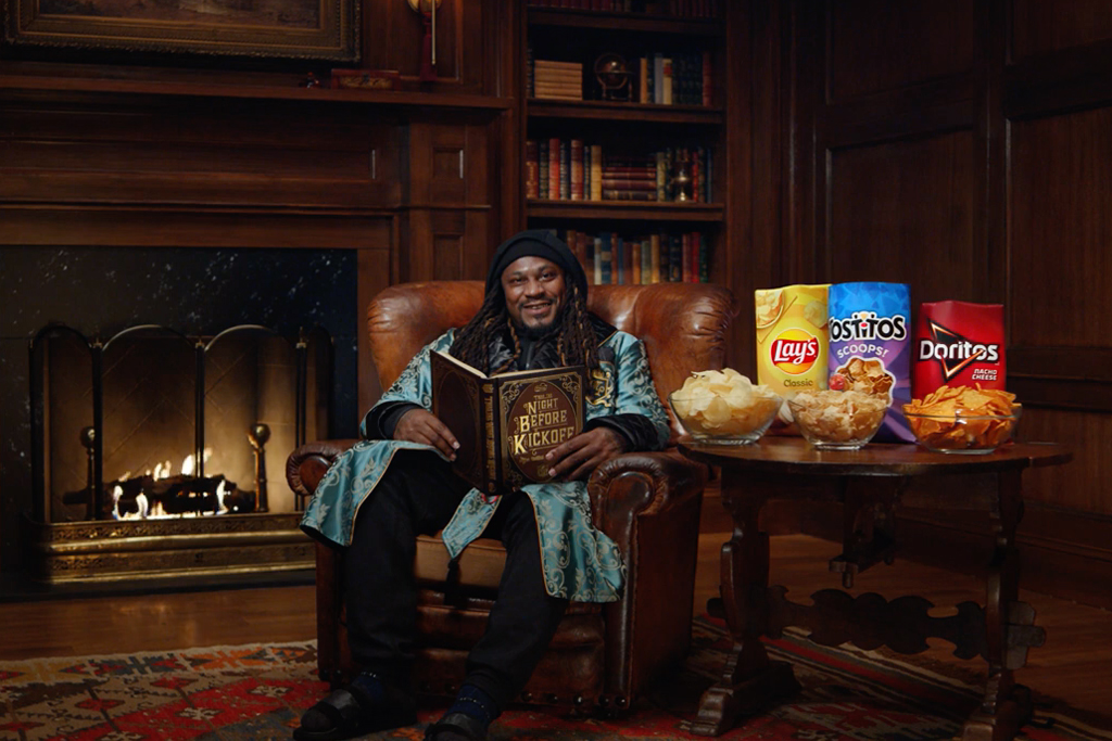 Frito-Lay celebrates NFL kickoff with a spoof on Christmas classic