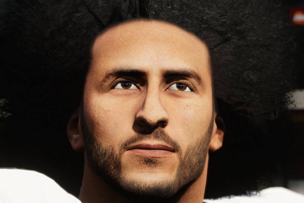 EA Sports puts Colin Kaepernick back in the, er, virtual game