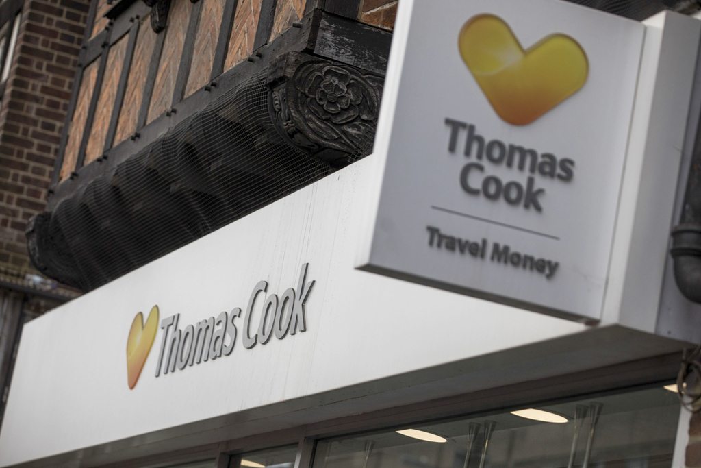 Thomas Cook UK British Fosun travel online agent brand vacation airline relaunch new Thomas Cook Group
