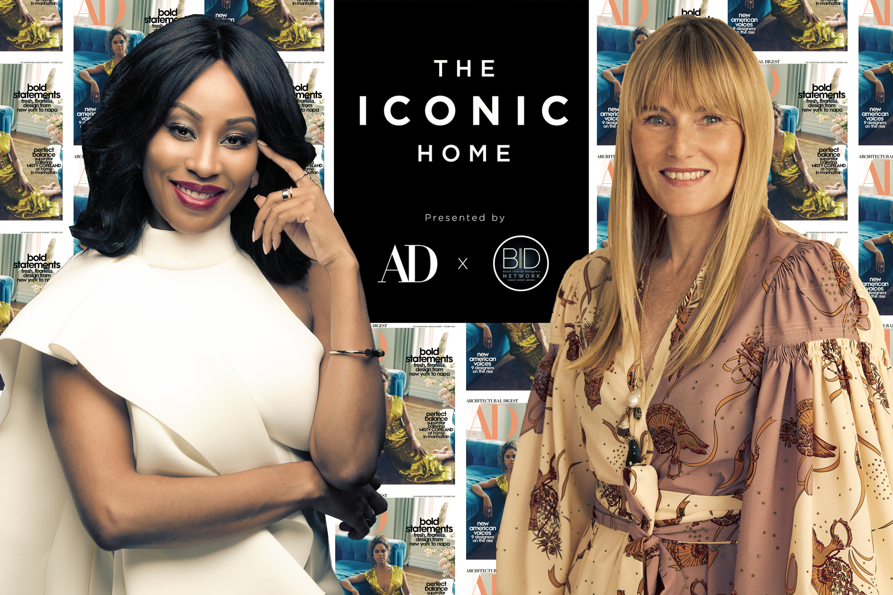 Architectural Digest teams up with the Black Interior Designers Network for a virtual showhouse