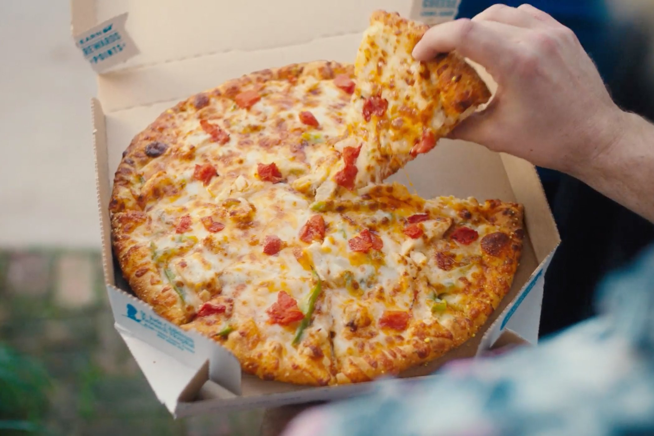 How Domino's is changing during COVID-19, from carside delivery to cheeseburger pizza