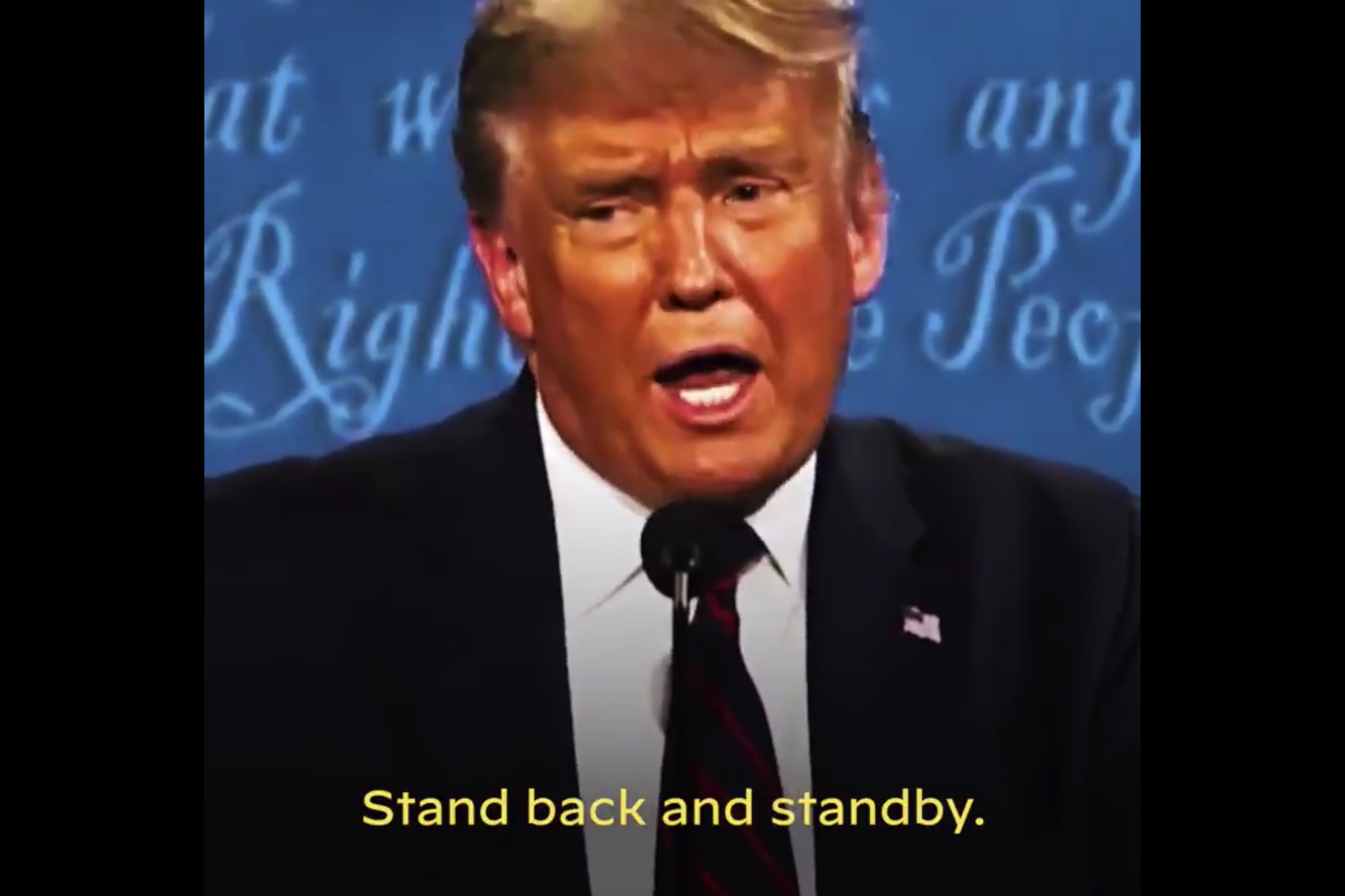 Biden turns Trump's Proud Boys debate moment into a campaign ad