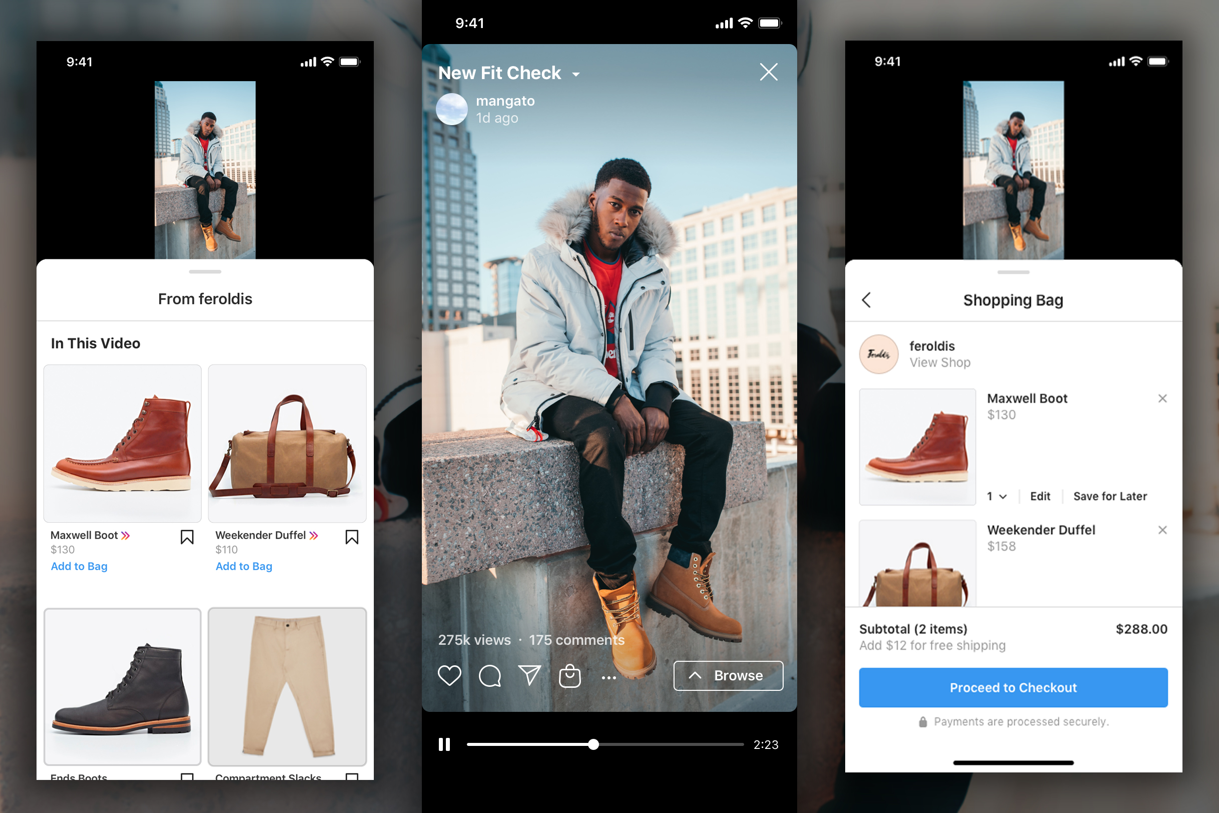 Instagram puts shopping everywhere, first on IGTV and then Reels