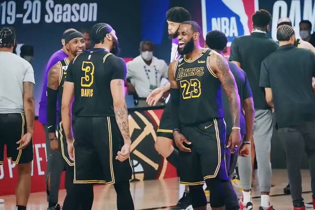Nike celebrates Lakers' 17th NBA Championship with bittersweet ad of loss and triumph