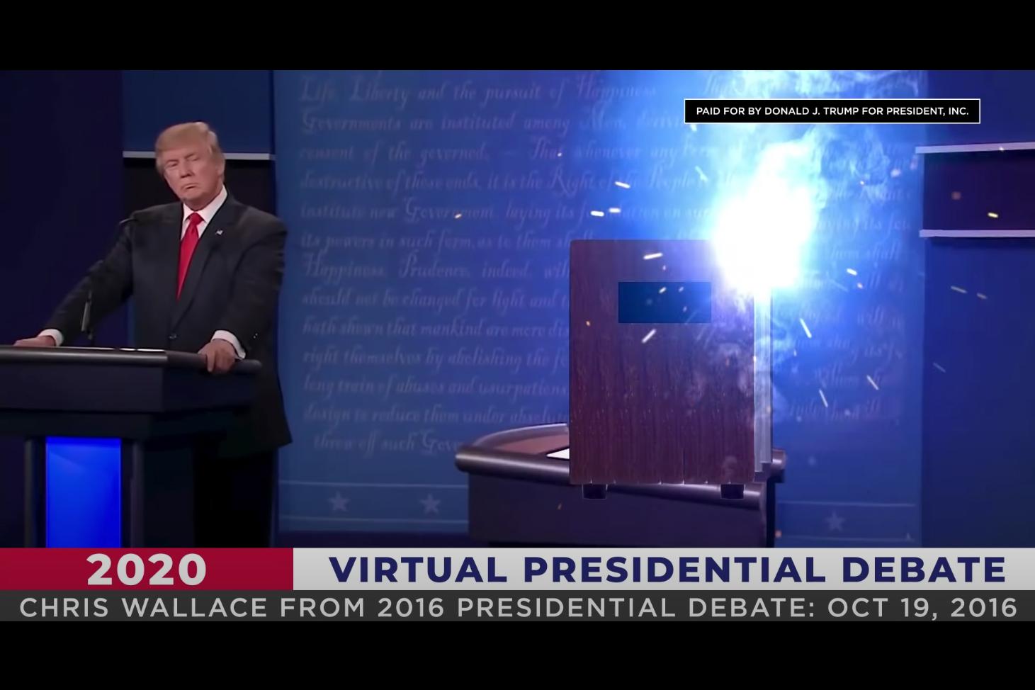 'Joe Biden Malfunctions': Trump attack ad mocks the idea of a virtual debate