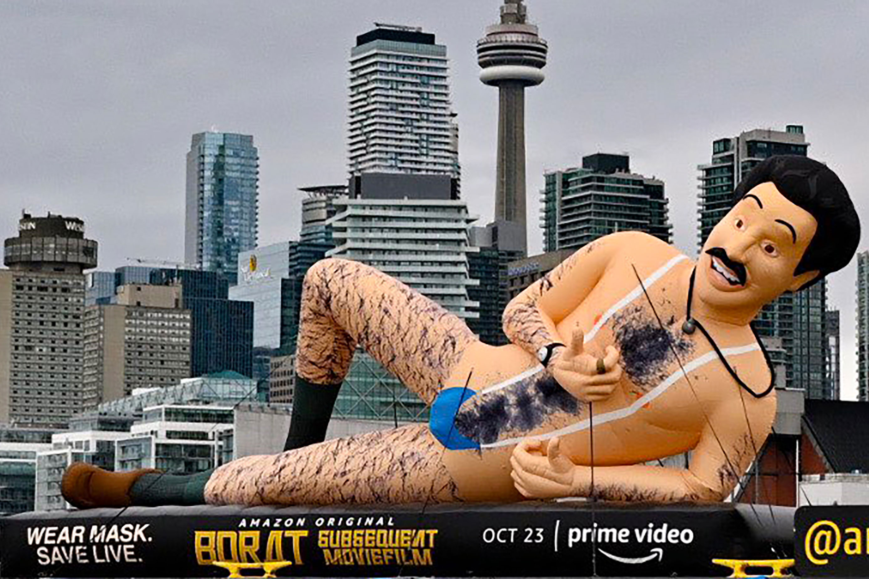 Borat makes Amazon debut, and a Quibi postmortem: Friday Wake-Up Call
