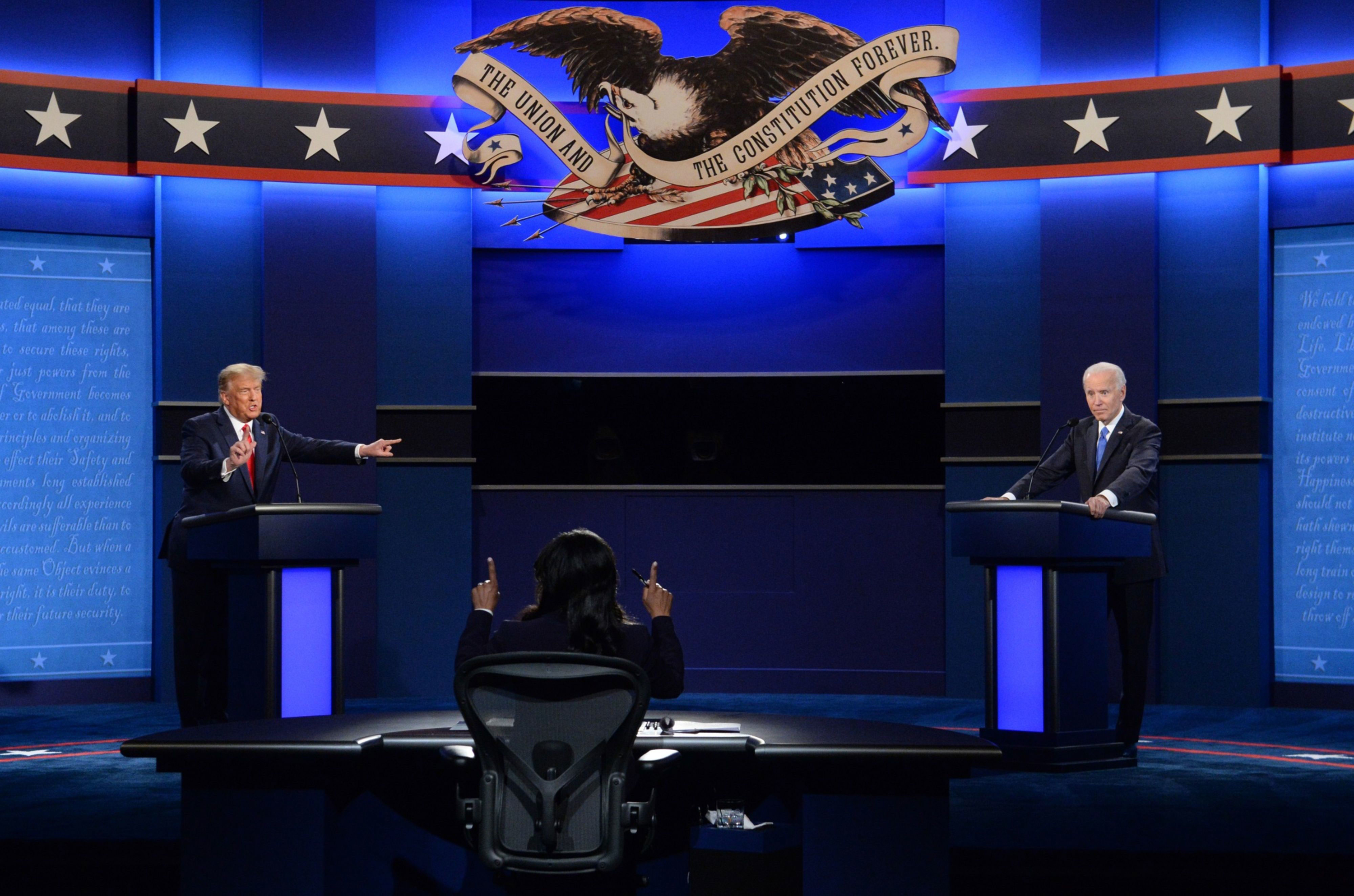 More subdued presidential debate sees drop-off in viewers