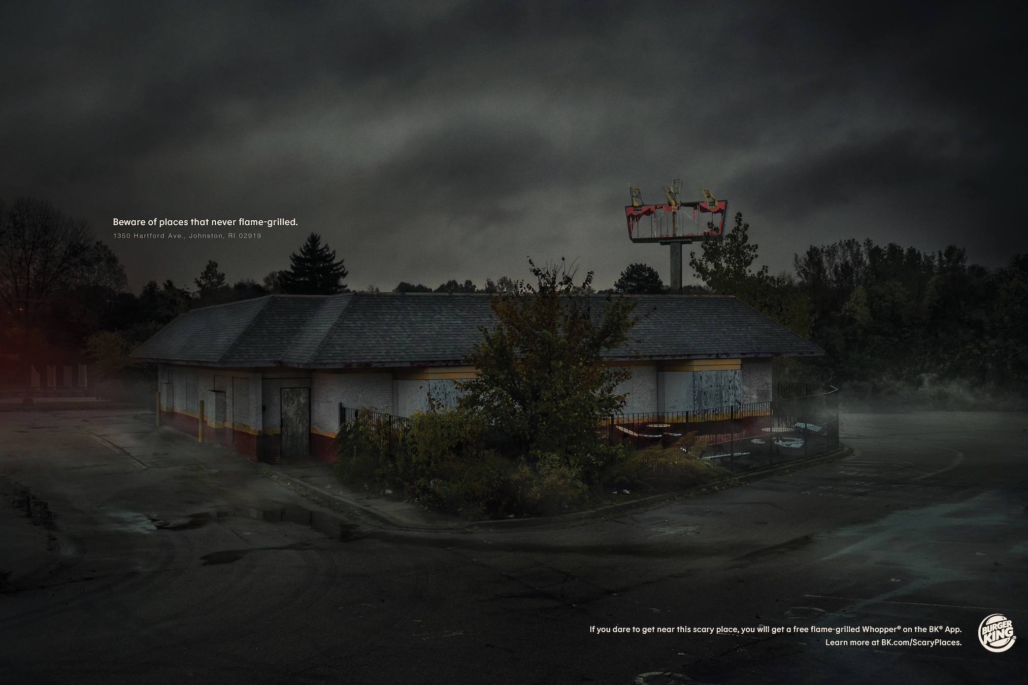 Burger King: Scary Places