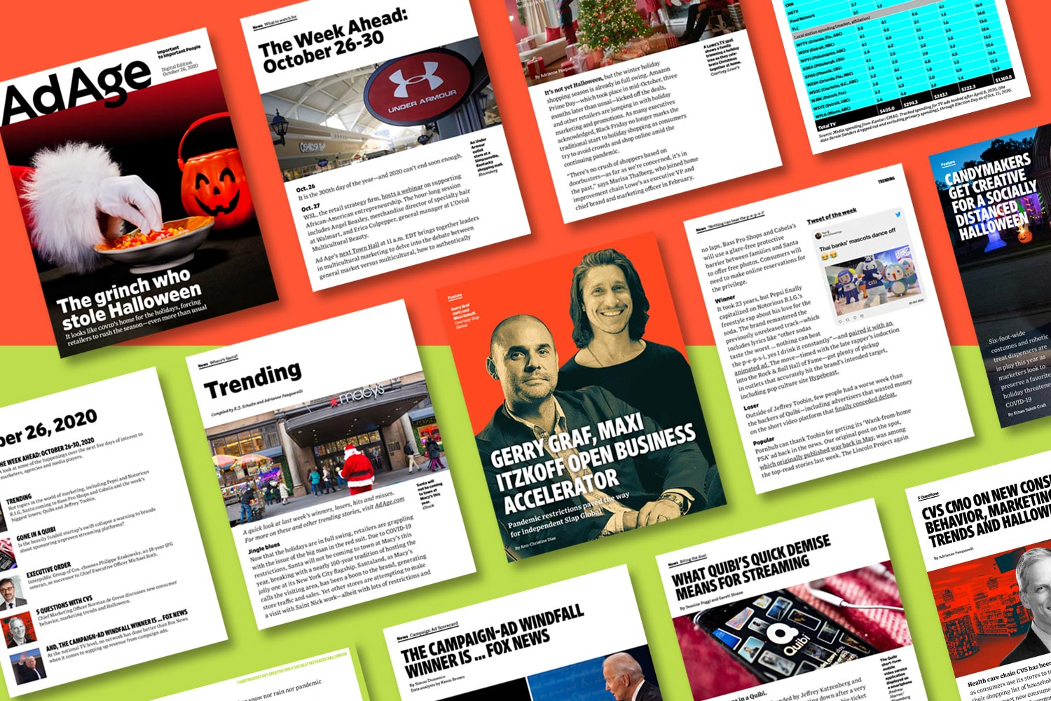 Retailers rush the season as Christmas creeps up on Halloween: Ad Age Digital Edition