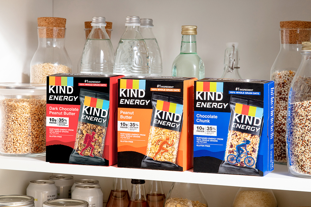 Kind Snacks' largest-ever ad campaign rehashes ongoing feud with Clif Bar