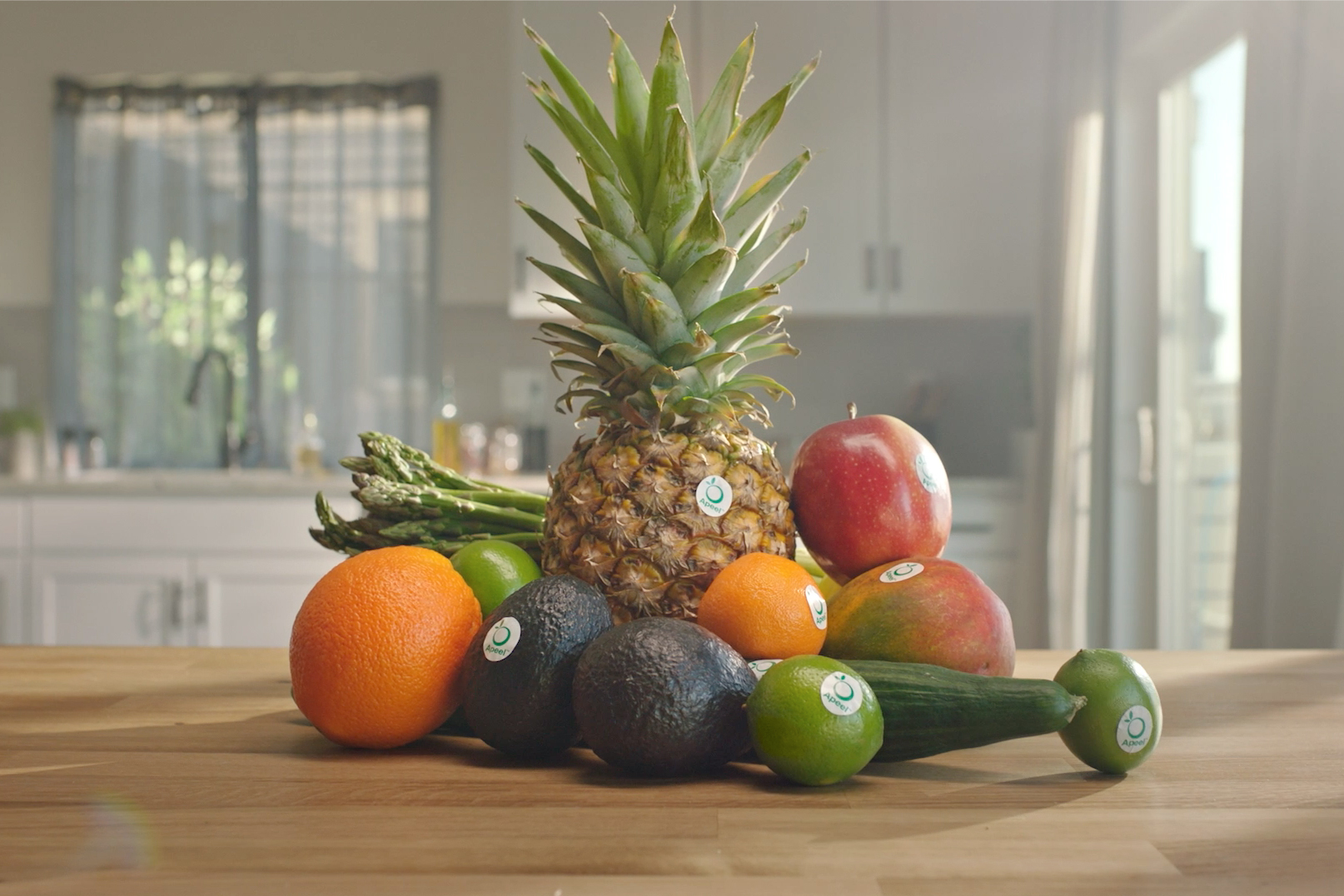 Produce protection brand Apeel markets itself with a 'food gone good' message