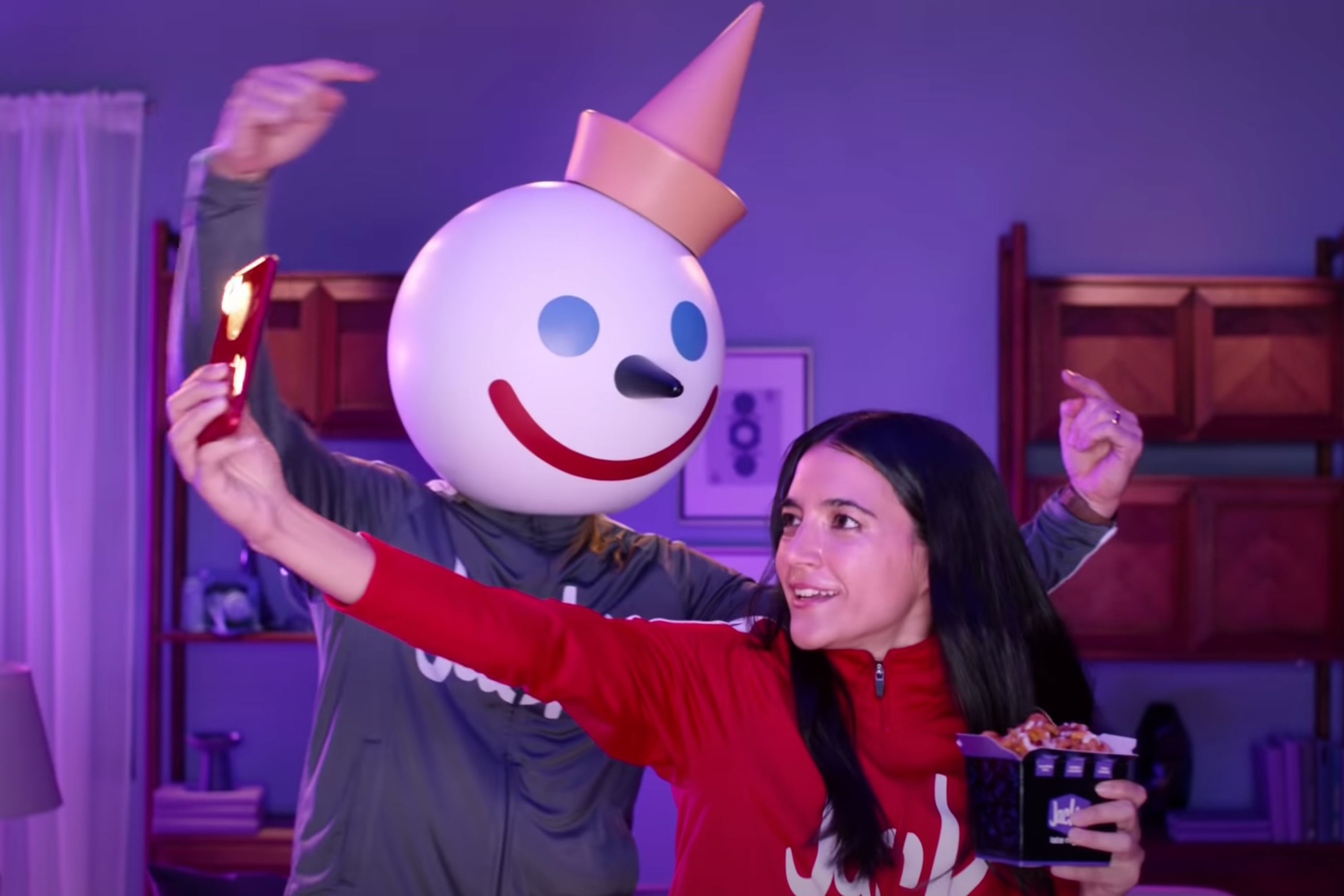 Watch the newest commercials on TV from T-Mobile, Jack in the Box, Peloton and more
