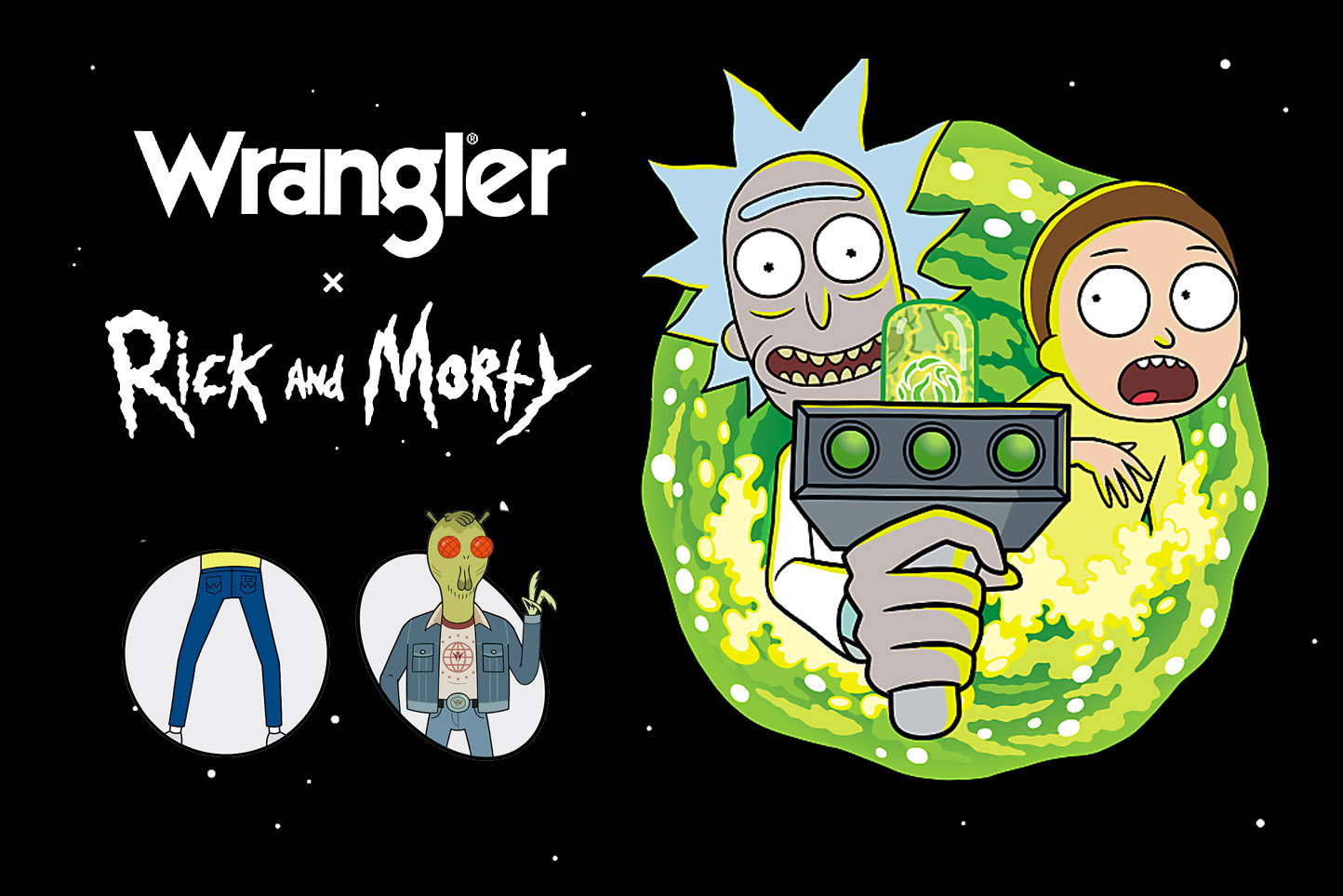 Wrangler teams up with 'Rick and Morty' for new clothing line