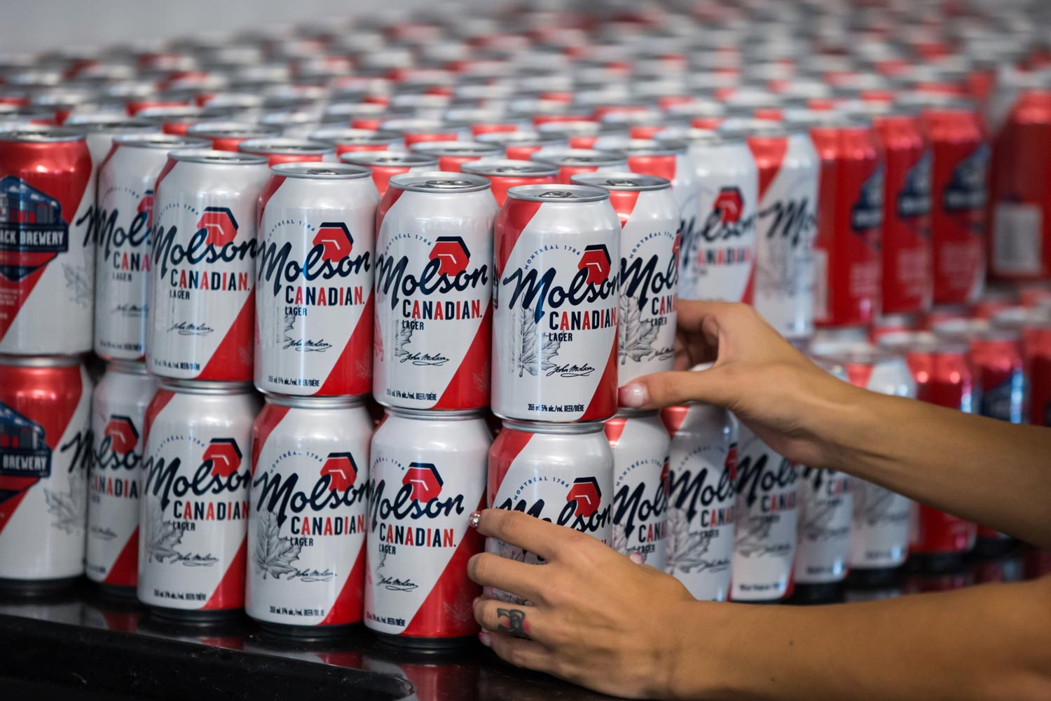 Beer can shortage lets up but that won't save some Molson brands