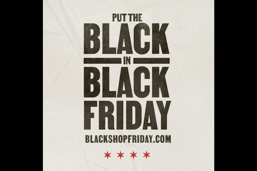 Black Shop Friday Chicago Illinois Thanksgiving African American Black owned shops stores restaurants businesses initiative Illinois Lottery OKRP O'Keefe Reinhard and Paul