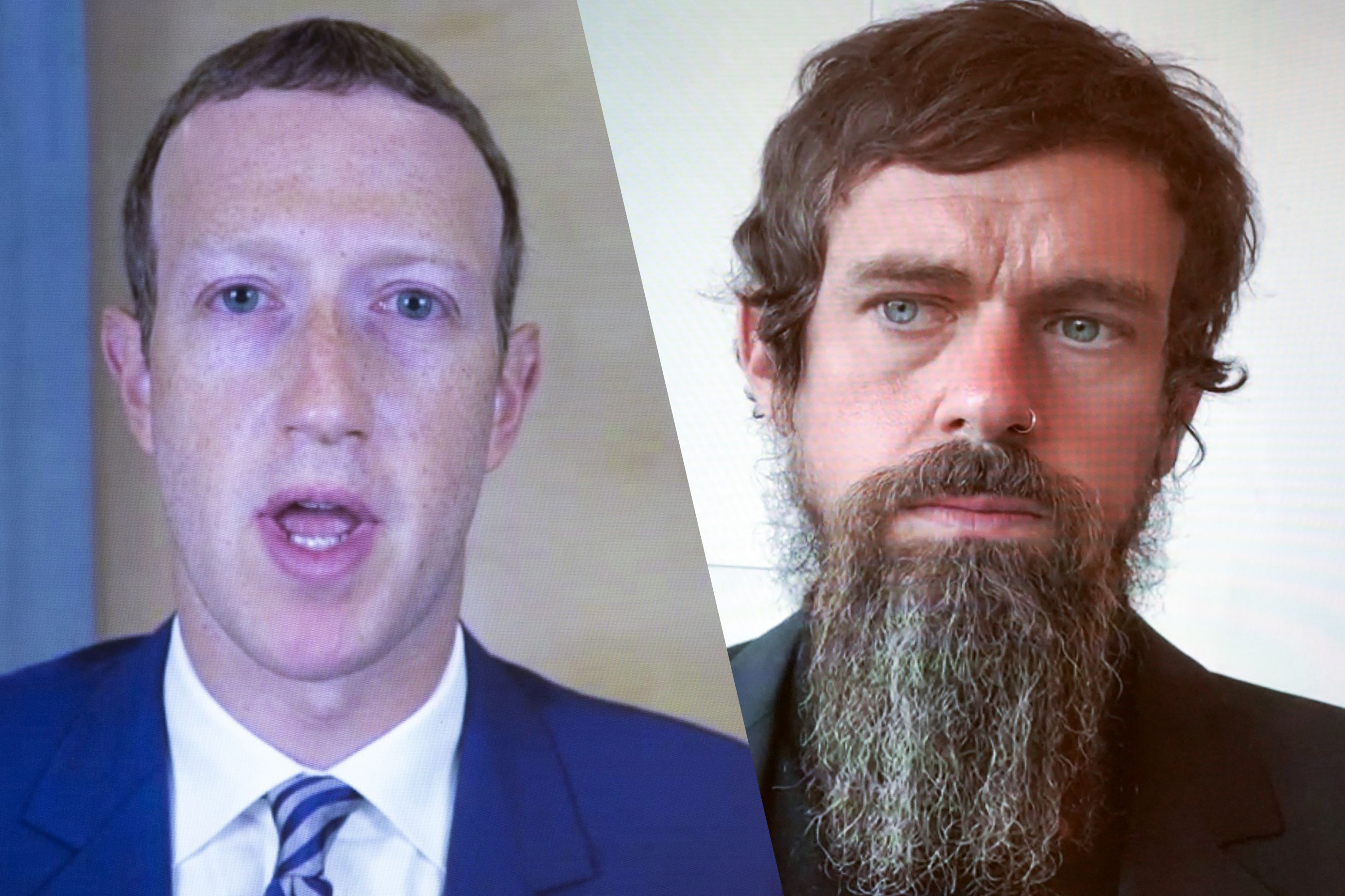 Zuckerberg, Dorsey to face Republicans furious about Trump loss