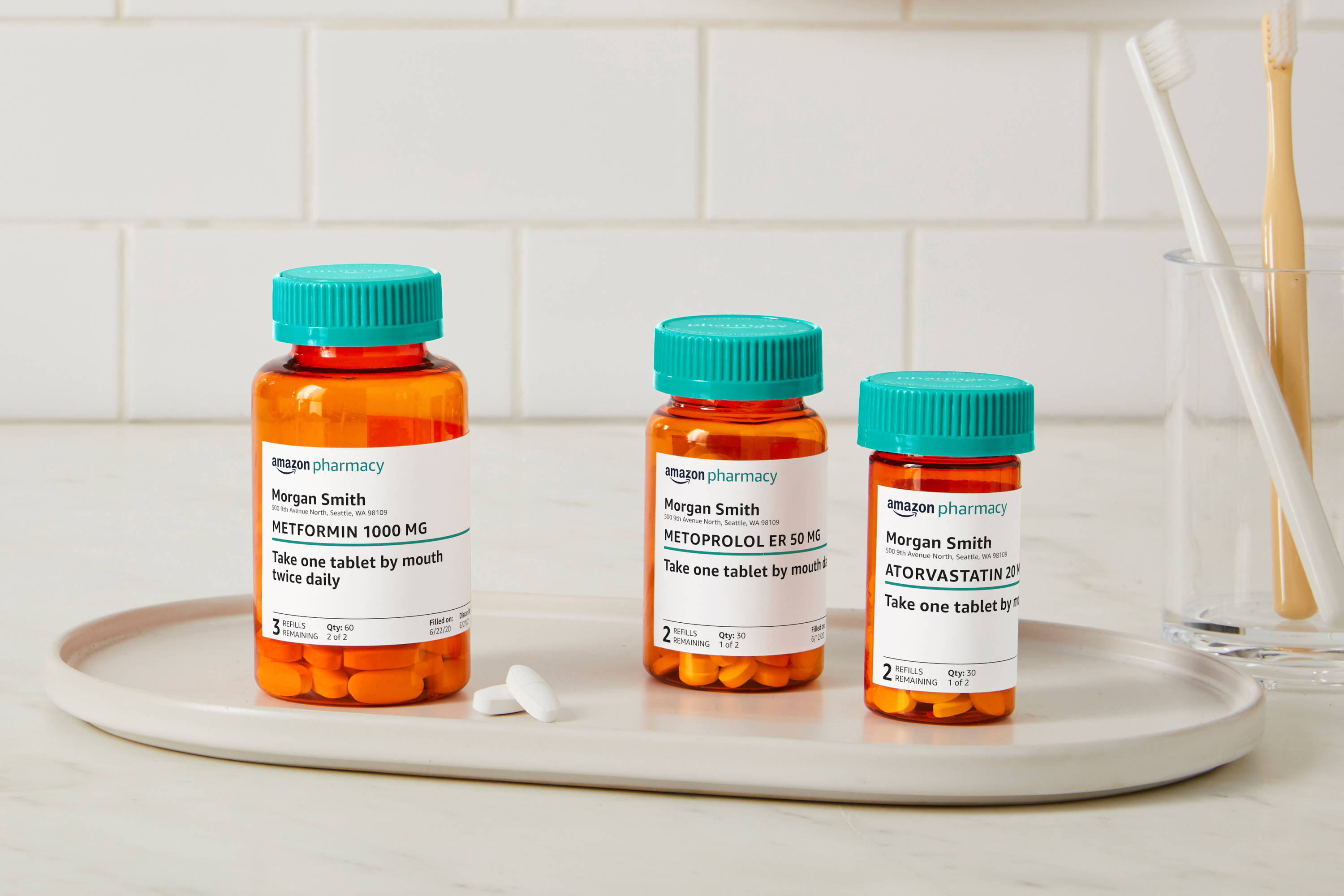Amazon expands push into health care with online pharmacy