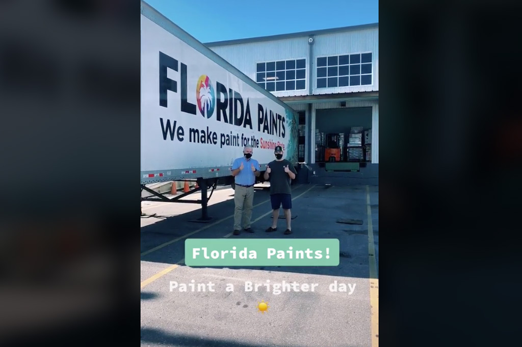 Florida Paints swoops in to develop a line of paint with fired Sherwin-Williams employee behind viral paint-mixing account