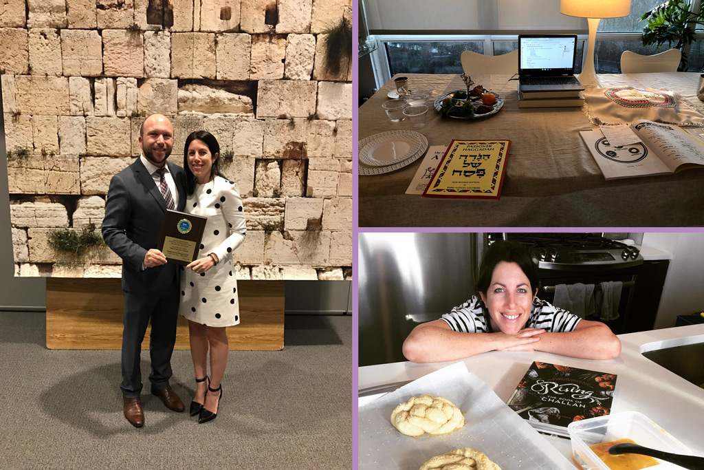Xaxis' U.S. president on life as a rabbinical spouse, virtual religiosity—and trying out for MasterChef