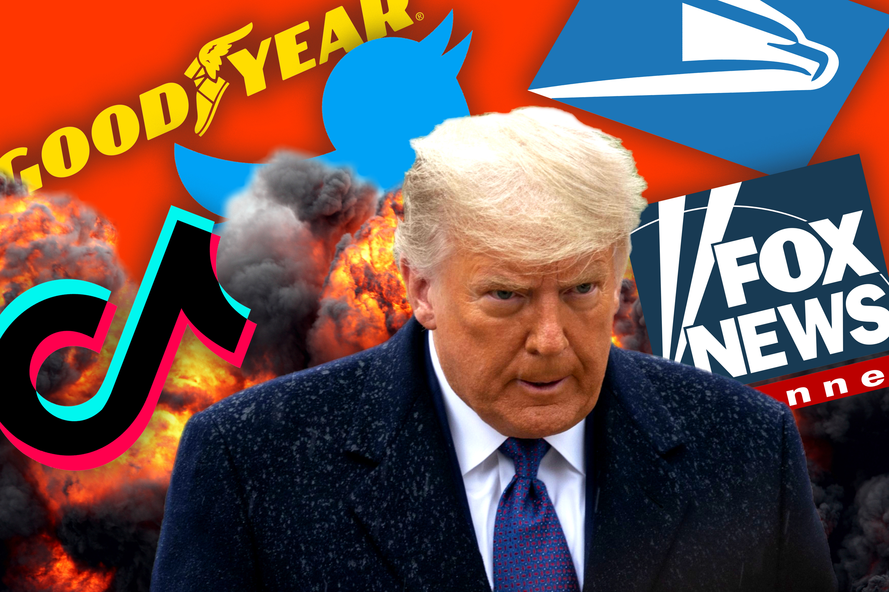 Trump's biggest fights with brands in 2020