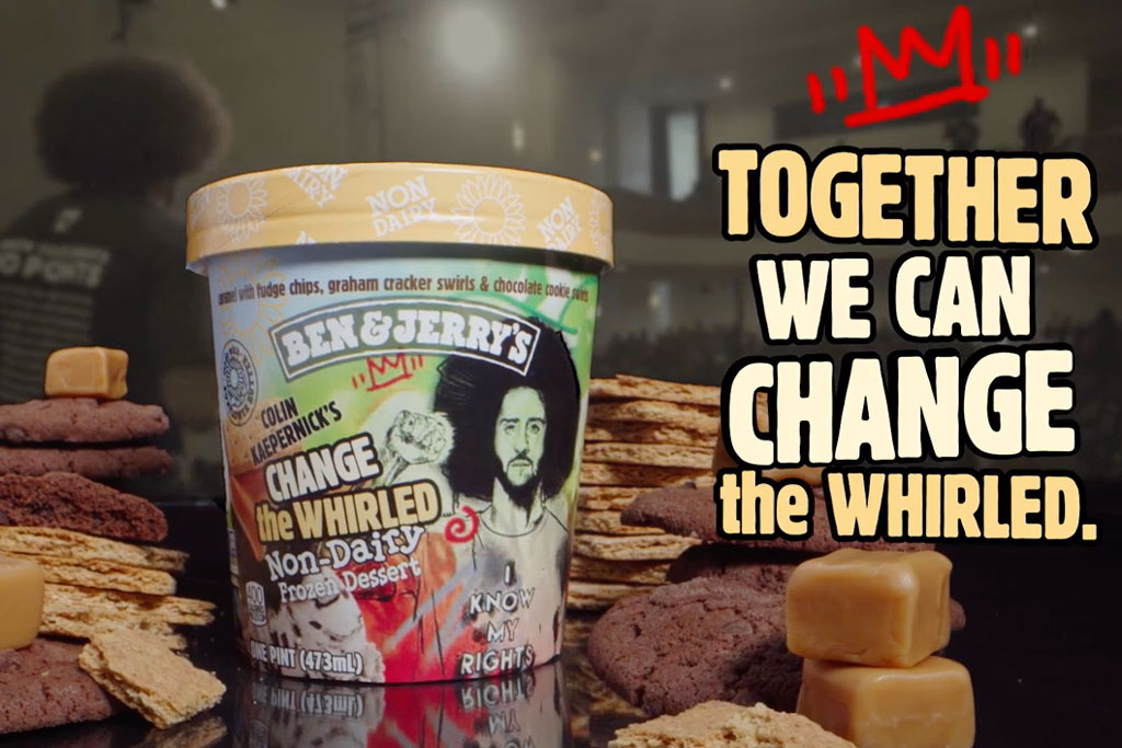 Ben & Jerry's brings Colin Kaepernick flavor to the masses