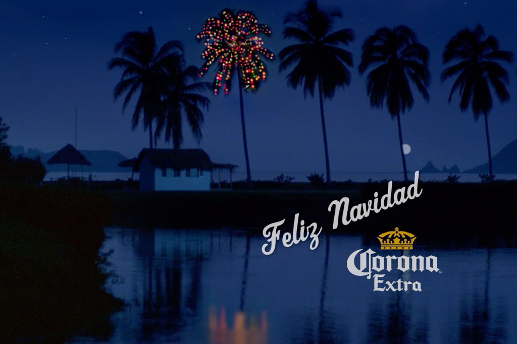 Corona beer's 30-year-old Christmas ad takes on new relevance in social distancing age