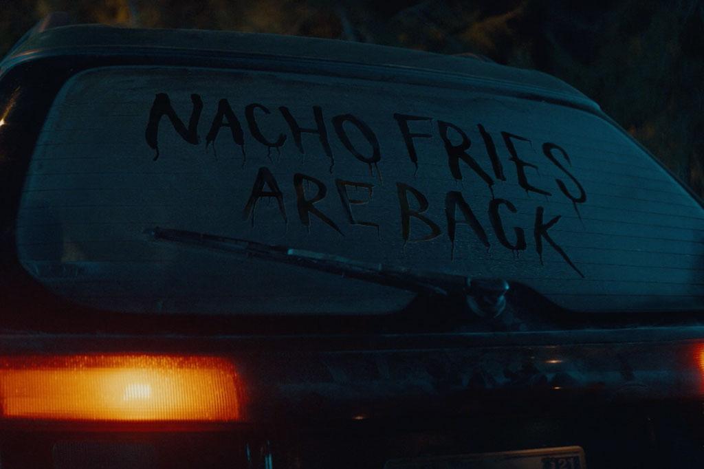 Taco Bell Nacho Fries return in a movie-style spot starring Joe Keery