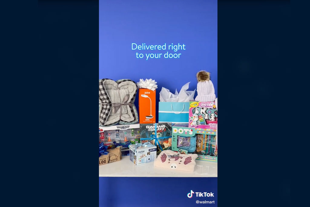 Walmart will do its first 'shoppable' livestream on TikTok, a holiday variety show to pitch apparel
