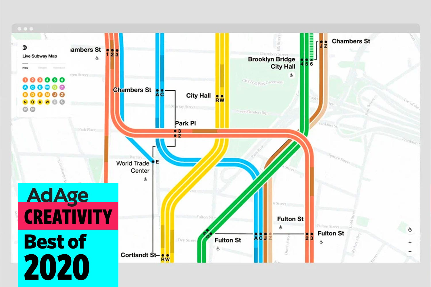 Best of 2020 No. 22: The New York subway map's major redesign unites the best parts of its controversial creative history