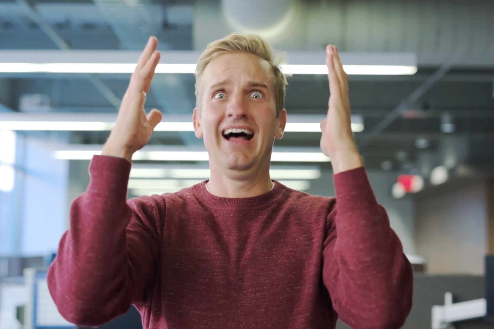 Watch: Empower's CEO does his best impression of 'Home Alone'