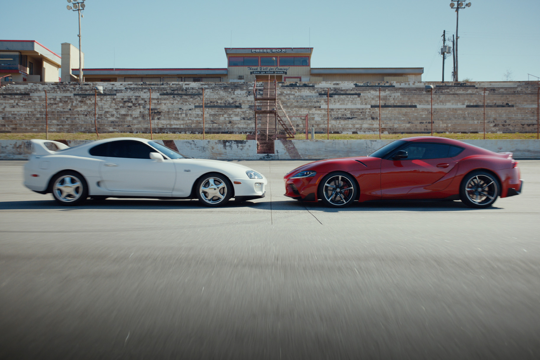 Toyota Motor North America is bringing back its new Supra sports car coupe 2020 GR Supra 3.0 Premium Launch Edition release date dealership on sale to the public July 22 with Saatchi & Saatchi ad agency new campaign This Is Our Sport