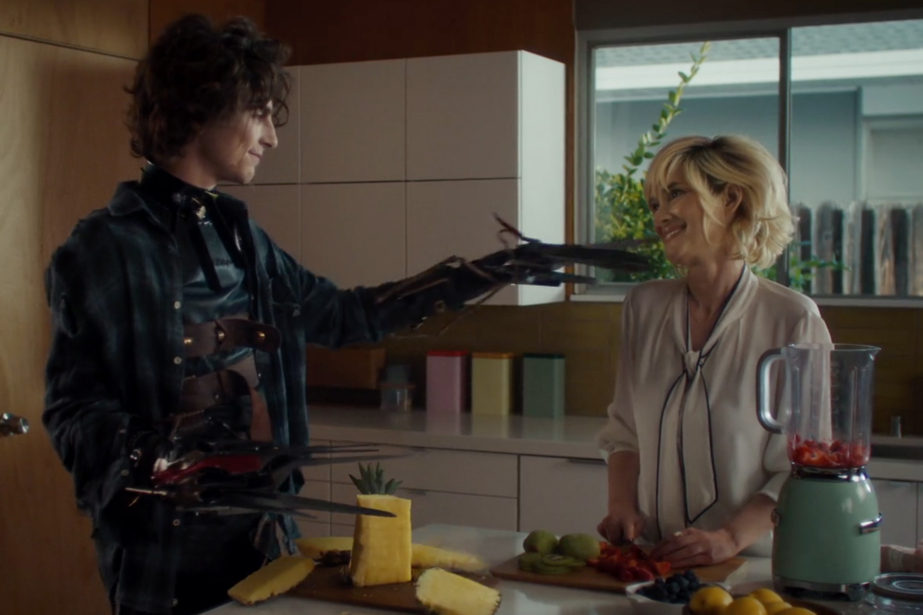 "Watch Cadillac deliver an alternative ending for ""Edward Scissorhands"" in Super Bowl ad
