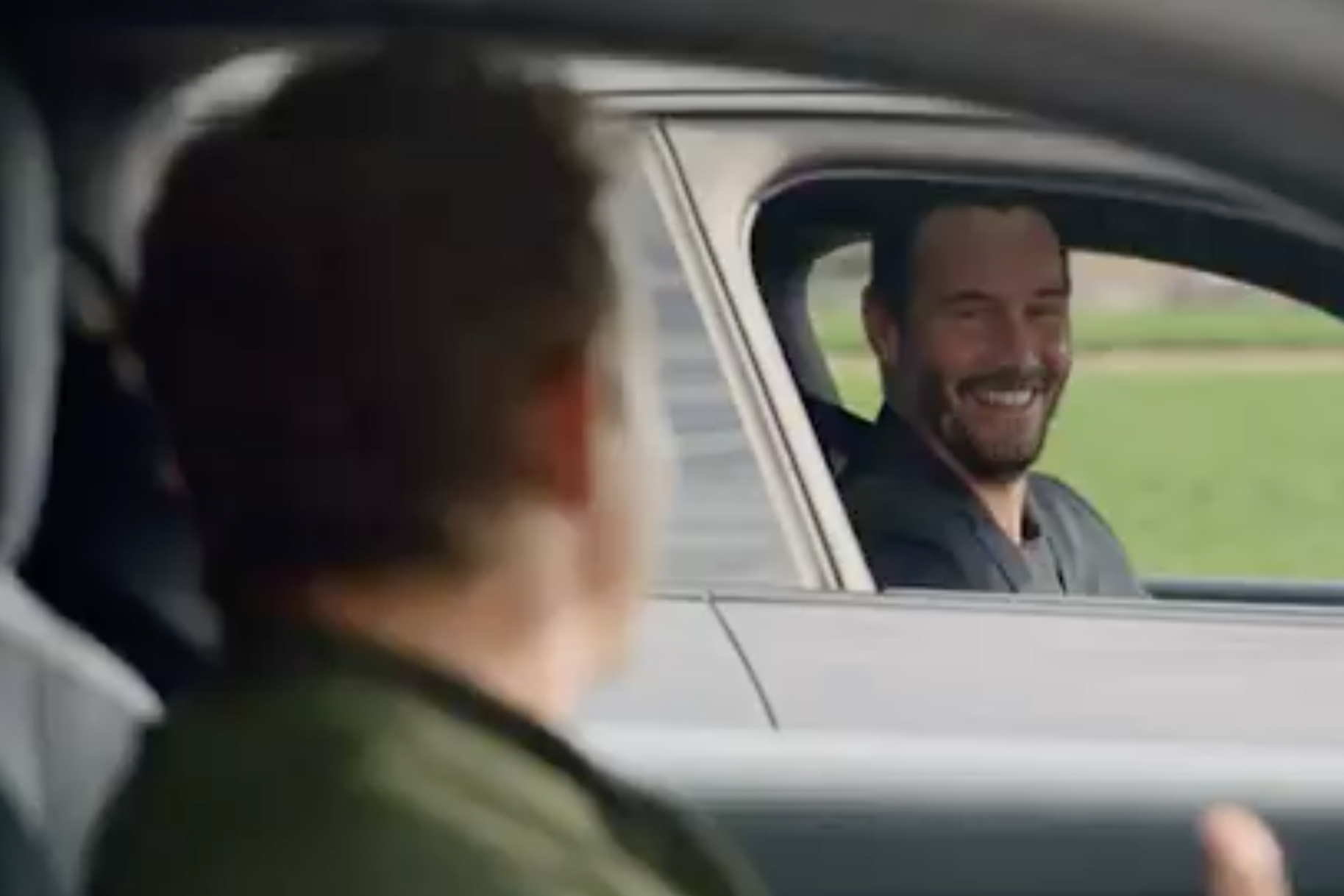 'Bill and Ted' stars Keanu Reeves and Alex Winter go on a new adventure for Porsche